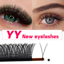 Abonnie 0.05/0.07 B/C/D curl 8-12mm YY eyelash extensions maquillaje y-shape mink eyelashes for makeup
