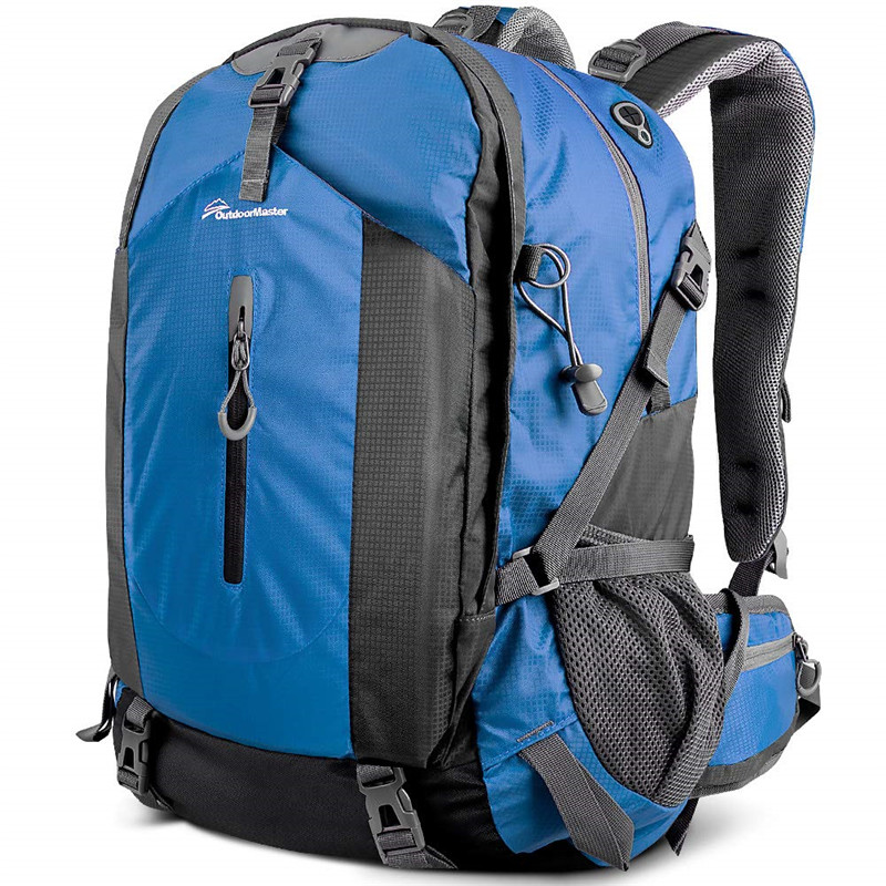 Hiking Backpack 50L - Travel Carry-On Backpack W/Waterproof Cover