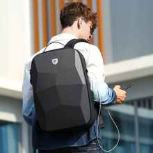 Fenruien New Hard Shell Fashion Backpack Men Anti-thief Business Backpacks 17.3 Inch Laptop Backpacks Waterproof Male Travel Bag