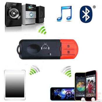 1pcs Portable USB AUX Bluetooth Music Audio Receiver Car Microphone Transmitter FM Kit With Bluetooth Wireless Adapter Hand Q7M3 image