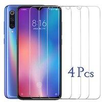 4Pcs Screen Protector Für Xiaomi Mi 9 10 8 Lite 9T Gehärtetem Glas Für Xiaomi Mi 10T pro Lite Film Auf Xaomi A1 A2 Lite A3 Glas
