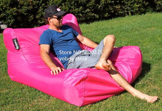 Large Size Water Floating Bean Bag Chair Made Of 420D Oxford-PVC Material 3