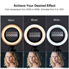 6inch 16cm Selfie LED Ring Light For Youtube Tiktok Makeup Video Light Usb Plug With Tripod For Phone discount