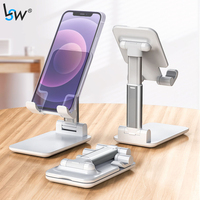 Soporte de escritorio para teléfono móvil, base de escritorio para iPad, tableta, iPhone, Samsung y Huawei