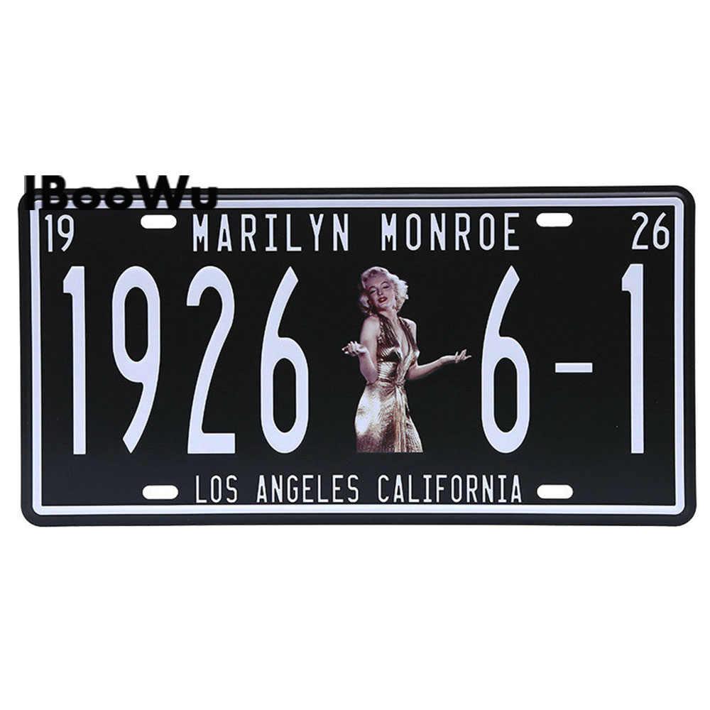 Vintage المشارك Route 66 سيارة رقم لوحة ترخيص اللوحة المشارك معدن القصدير علامات بار نادي جدار المرآب ديكور المنزل 15*30 سنتيمتر