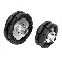 Omnidirectional wheel 60mm omni-directional 75mm omni Mobile Tires for Robot Car Parts Kit
