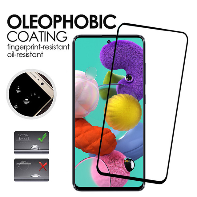tempered glass for samsung A51 A71 A50 A30 a 51 a31 a21s glass camera lens screen protective for samsung galaxy A71 A51 glass 6