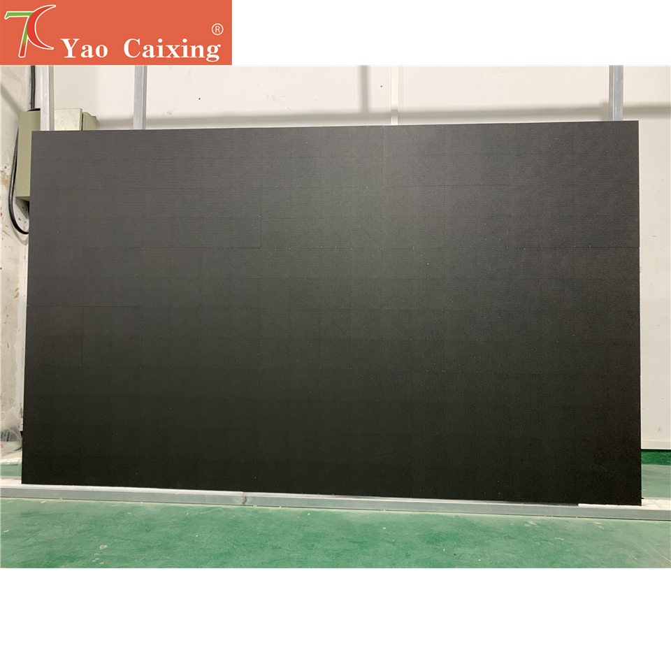 Free Shipping High Resolutions 15pcs 500x500mm Indoor P3.91 Aluminum Cabinet With Controller Plug And Play Matrix Video Wall