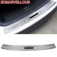 Задние панели багажника  ножная педаль  Автомобильный декоративный хром  автомобильные стильные украшения  аксессуары 17 18 19 для Volkswagen Tiguan L