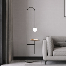 Nordic simple modern LED floor lamp for bedroom reading lamps creative personality living room study coffee table floor lamp