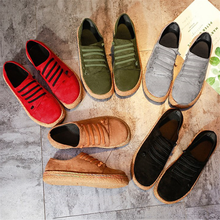 New Spring Women Flats Shoes Loafers Rou