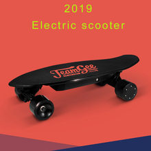 Electric Scooter For Adults 4 Wheel Electric Scooters Motor 350W Bluetooth Remote Longboard Electric Skateboard(China)