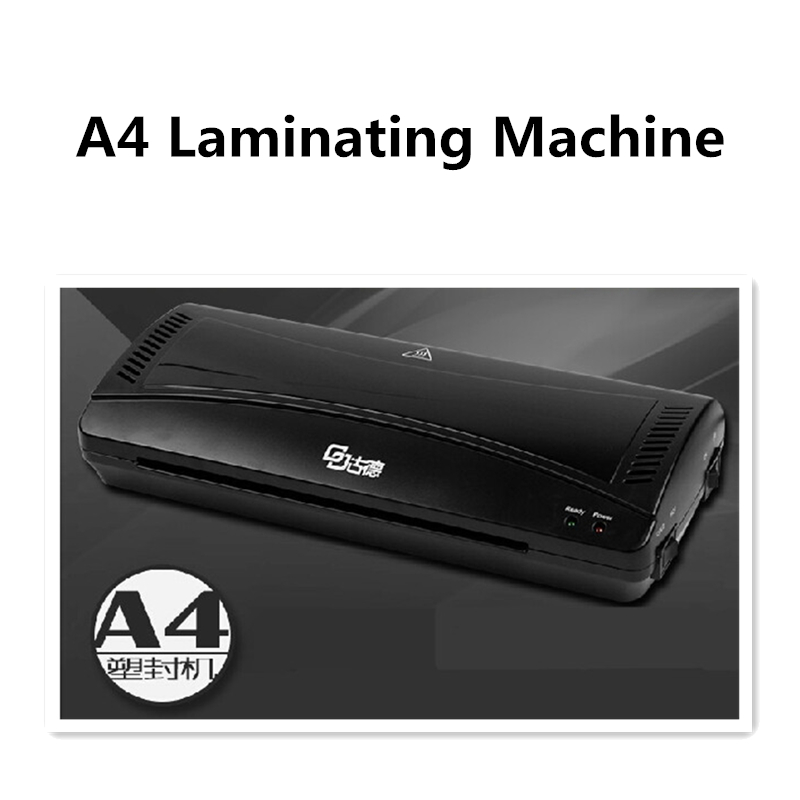 A4 Laminating Machine Photo Laminator Membrane Laminating Machine Maquina Plastificadora Hot And Cold Laminator