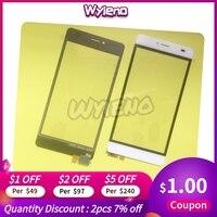 """Wyieno 5 0 """"BQS5070 Sensor mágico piezas de repuesto para teléfono BQS 5070 pantalla táctil mágica digitalizador Panel de pantalla táctil Panel táctil de teléfono móvil     -"""