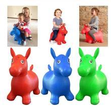 Детская игрушка попрыгун в виде животных, надувной прыжок на батуте, верховая езда, игрушки для животных, детские игрушки для игр на открытом воздухе/игрушки для помещений, ручной насос