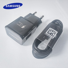 Samsung galaxy carregador rápido adaptador de energia usb 9v1.67a carga rápida tipo c linha de cabo para galaxy s10 s8 s9 mais nota 10 9 8 mais