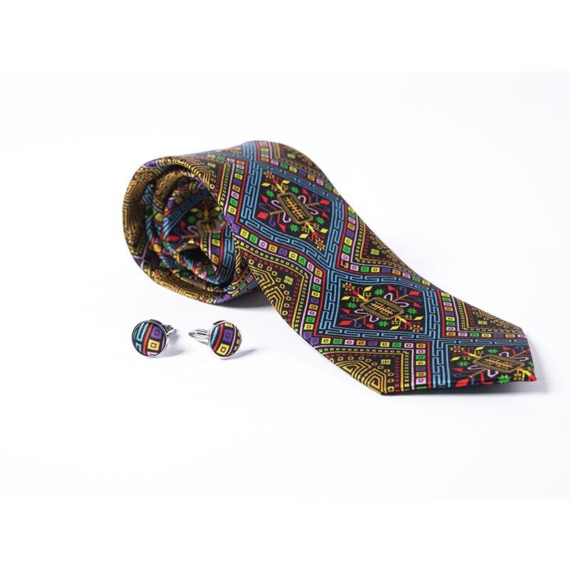 DHL/бесплатная доставка TNT 40 шт 125 стиль галстук оптовая продажа новый модный мужской галстук 100% шелк высокой плотности Пейсли Полосатый галс... - 6