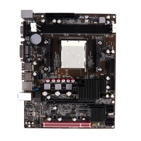Desktop A780 Computer Motherboard Am2 2Xddr2 Pc Mainboard Double Channel Support Vga Dvi for Amd Am 2 Series 940 Pin Usb 2.0 Ide