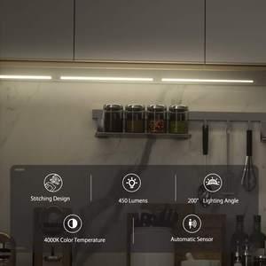 Image 2 - BlitzWolf BW LT25 12W 4000K akıllı otomatik sensör LED ışık şeridi LED ayrılabilir ve eklenmiş dolap ışığı dikiş tasarımı ile
