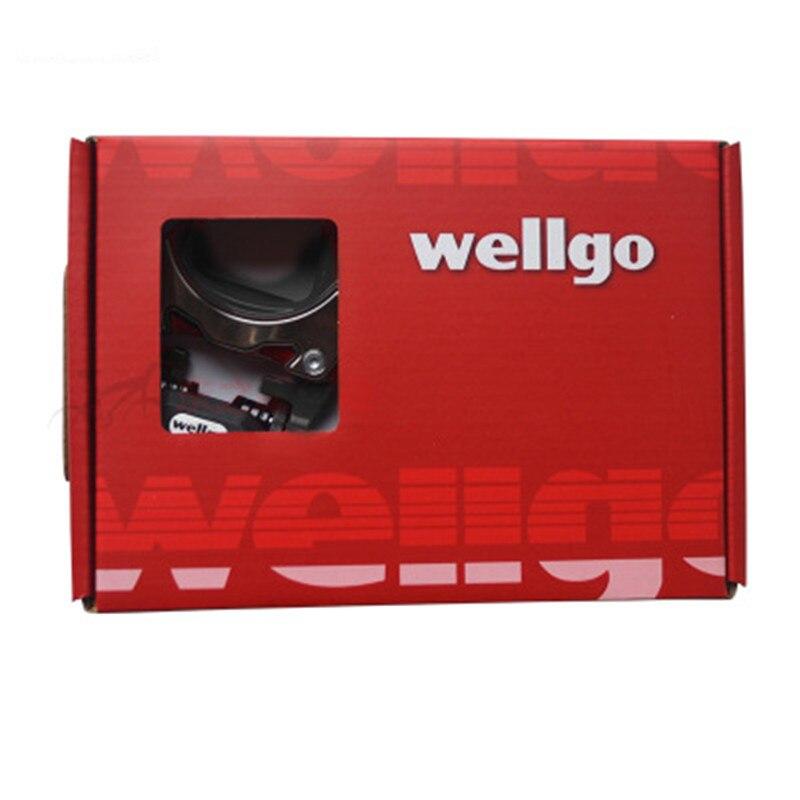 Wellgo-road-lock-pedal-liga-de-alum-nio-rolamento-bloqueio-spd-pedal-clipe-com-spd-sl