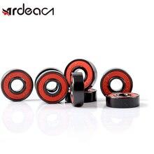 ARDEACN Bearing MS2301 rubber double-sided cover chrome steel bearing ABEC-9 608ZZ roller skates skateboard