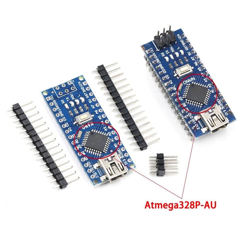 Mini USB With The Bootloader Nano 3.0 Controller Compatible For Arduino CH340 USB Driver 16Mhz NANO V3.0 Atmega328