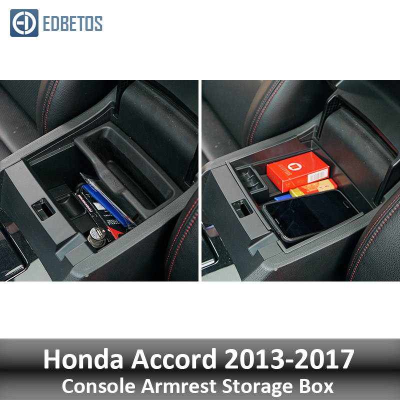 Image 3 - EDBETOS For Honda Accord 2013 2014 2015 2016 2017 Armrest Storage Box Console Organizer Glove Box Bin Stowing Tidying-in Stowing Tidying from Automobiles & Motorcycles