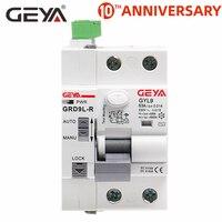 GEYA GRD9L R 6KA ELCB RCCB Automatic Reclosing Device Remote Control Circuit Breaker 2P 40A 63A 30mA 100mA 300mA RCD|Circuit Breakers| |  -
