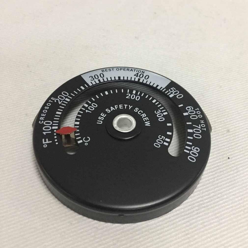 Poêle à bois haute température cheminée contrôleur cheminée mécanicien thermomètre coffre-fort conduit température