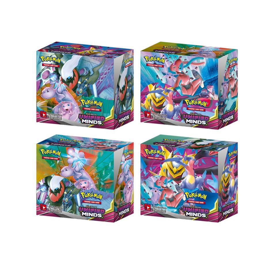 Pokemon Cards 324Pcs TCG: Sun & Moon Bonds Booster Box Trading Card Game