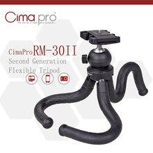RM 30 ii viagem ao ar livre mini suporte polvo tripé flexível tripe para telefone câmera digital