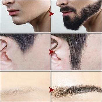 Top 30ml Pro Men Beard Growth Enhancer Liquid Facial Nutrition Moustache Grow Beard Shaping Tool Beard Oil 6
