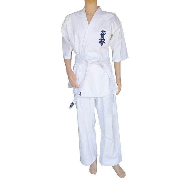 Спортивное кимоно каратэ кёкусинкай высокого качества одобренное WKF 5