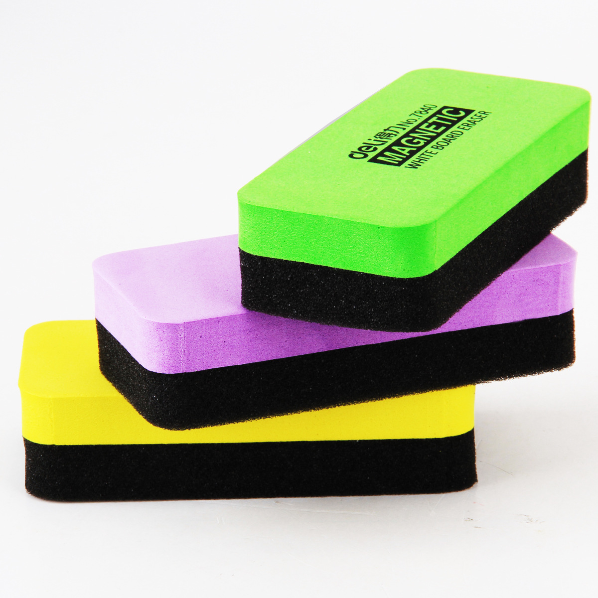 1 Pcs 110mm X 50mm X 30mm 고품질 마그네틱 화이트 보드 지우개 Drywipe 마커 클리너 학교 사무실 화이트 보드 용품