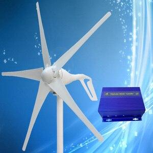 Image 2 - 2020 새로운 도착 400W 풍력 발전기 + 바람/태양 광 하이브리드 컨트롤러 (최대 600W 풍력 터빈, 최대 300W 태양 전지 패널)