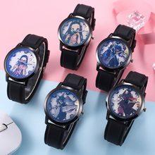 Nouveau Anime démon tueur Kimetsu No Yaiba montre Kamado Nezuko Anime Patted montre jouets Silicone bracelet montre-bracelet cadeau
