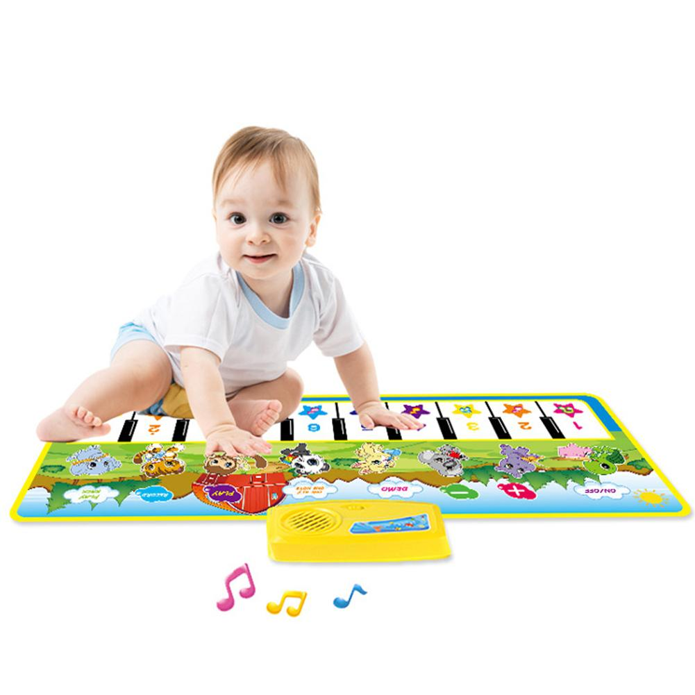 Kidlove Children's Multi-function Music Game Carpet Piano Rug Children's Early Education Music Carpet Toy Gift