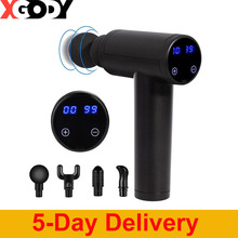 Massage-Gun Electric-Tissue Deep-Muscle-Massager Muscle-Pain-Relief Body-Shaping