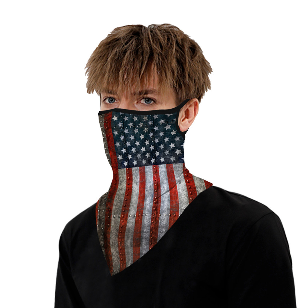 Hf17b16b33310433bb0c9682d44a87b2d8 Outdoor Camouflage Print Seamless Ear Face Cover Sports Washable Scarf Neck Tube Face Dust Riding Facemask Windproof Bandana