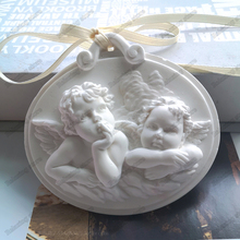 Два ангела Форма торт силиконовые формы милый ребенок воск для ароматерапии кулон формы для автомобиля Декор DIY гипсовые поделки формы