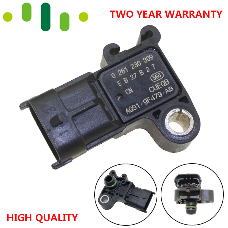 3 barra manifold mapa sensor de pressão impulso sender para ford citroen jaguar land rover mazda peugeot volvo 0261230309 0261230453