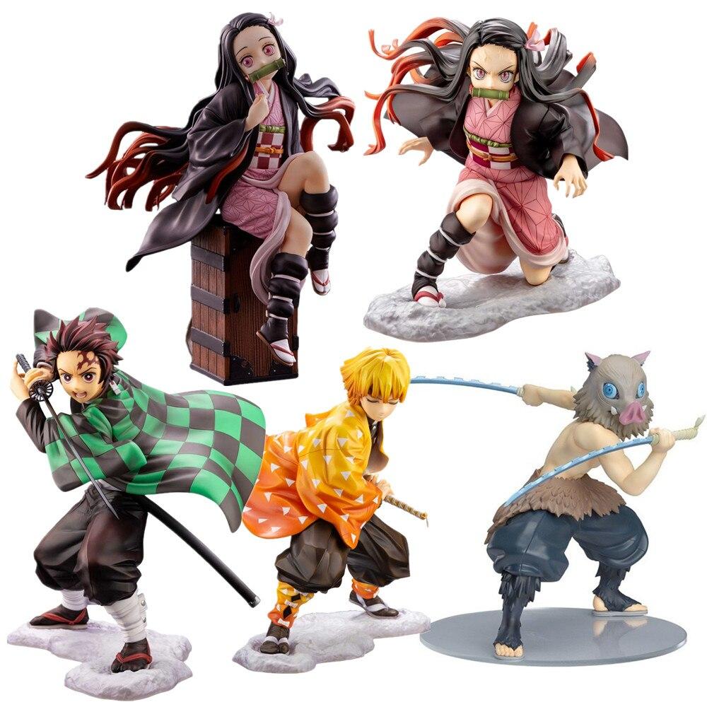 2020 Demon Slayer Kimetsu no Yaiba Kamado Tanjirou PVC Figure Toy 18cm Loose