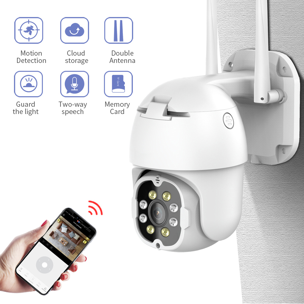FEISDA 1080P Mini  Camera IP Outdoor Security Camera Wifi AI Human Detection Voice Alarm HD Night Vision Ip Cctv Camera