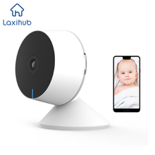 WiFi Camera 1080P Full HD 32G SD Card Motion Detection, Two-Way Audio & Night Vision, Smart Home Cameras Work with Alexa, Google