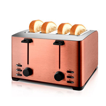 Automatic Toaster Household Toast Machine 4 Slices Breakfast Machine Toaster Stove Equipment THT-3012B 5