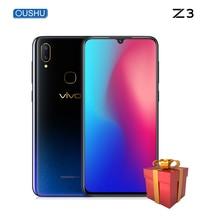 """Vivo Z3 Acqua di Goccia Dello Schermo 4 GB/6 GB + 64 GB/128 GB Snapdragon670/710 dual fotocamera LTE Android 8.1 6.3 """"FHD di Impronte Digitali ID Smart phone"""