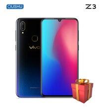 "Vivo z3 tela gota de água 4 gb/6 gb + 64 gb/128 gb snapdragon670/710 câmera dupla lte android 8.1 6.3 ""fhd impressão digital id telefone inteligente"