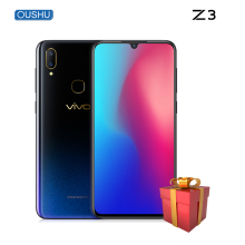 "vivo Z3 Water Drop Screen 4GB/6GB+64GB/128GB Snapdragon670/710 dual camera LTE Android 8.1  6.3"" FHD FingerPrint ID Smart phone"