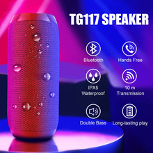Wireless Loudspeaker Speaker-Box-Amplifier TG117 Mini Outdoor Portable Sport-Bass-Box