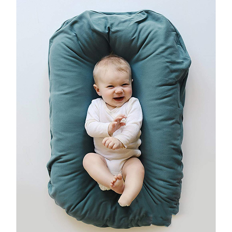 0-6 Months Cotton Baby Uterus Bionic Bed Portable Removable And Washable Newborn Bed In Bed Breathable Sleep Crib 70*45CM Family